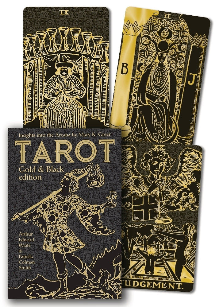 Tarot Gold & Black Edition by Arthur Edward Waite