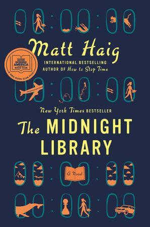 The Midnight Library by Matt Haig - hardcvr