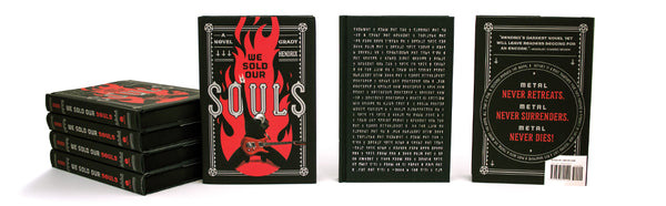 We Sold Our Souls by Grady Hendrix, hardcover