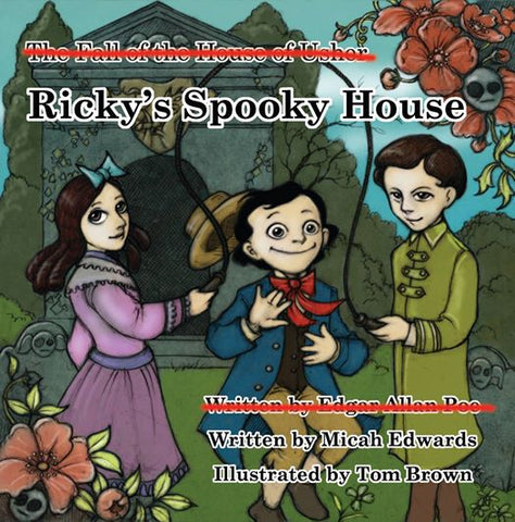 Ricky's Spooky House: Poe's House of Usher reimagined for children