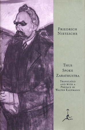 Thus Spoke Zarathustra by Friedrich Nietzsche - hardcvr