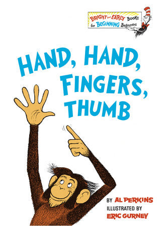 Hand, Hand, Fingers, Thumb by Al Perkins - hardcvr