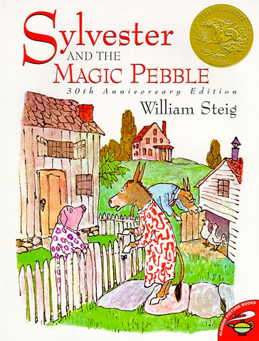 Sylvester & the Magic Pebble by William Steig - pbk