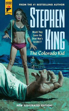 The Colorado Kid by Stephen King illustrated