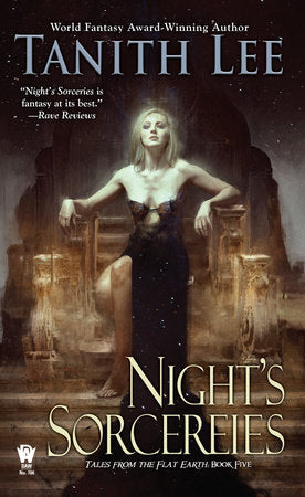 Tales from the Flat Earth #5: Night's Sorceries by Tanith Lee - mmpbk