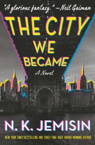 The City We Became by N.K. Jemisin - hardcvr