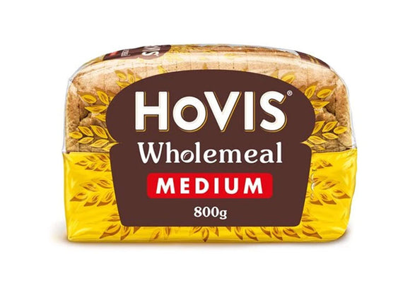 Hovis Wholemeal Sliced Bread Medium (Per Loaf)