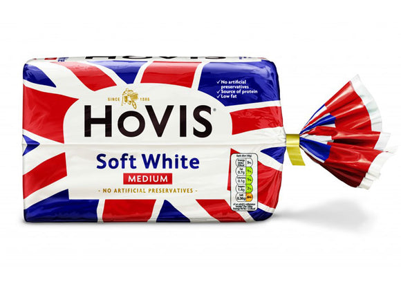 Hovis White Sliced Bread Medium (Per Loaf)