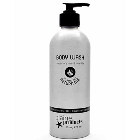 Plaine Products Body Wash | Rosemary Mint Vanilla