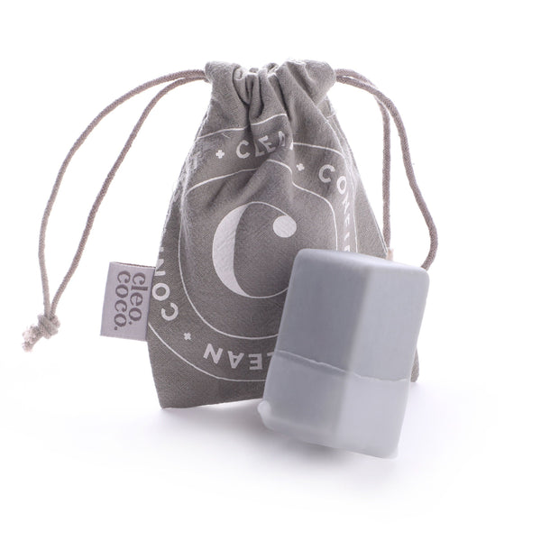 Cleo+Coco Charcoal Deodorant Bar - Sweet Surrender Lavender Vanilla