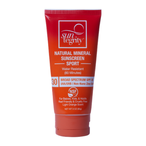 Suntegrity Sport Natural Mineral Sunscreen