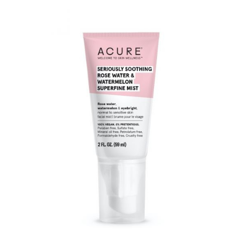 Acure Seriously Soothing Rose Water & Watermelon Superfine Mist