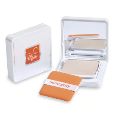 Suntegrity Pressed Mineral Powder Compact - Translucent - SPF 50