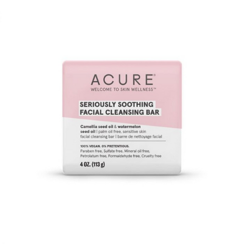 Acure Seriously Soothing Facial Cleansing Bar