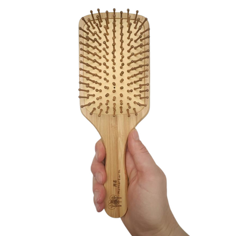 Me Mother Earth Bamboo Paddle Hair Brush