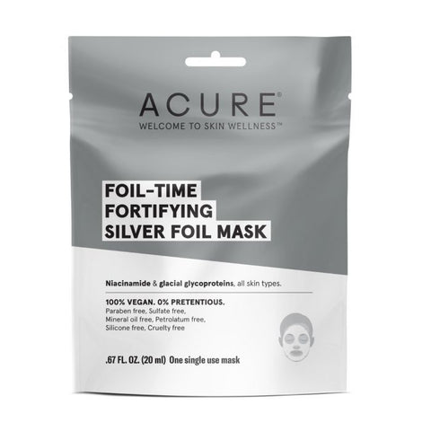 Acure Foil-Time Fortifying Silver Foil Mask
