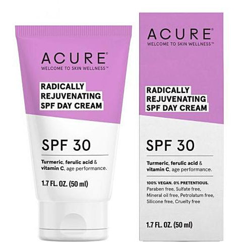 Acure Radically Rejuvenating SPF Day cream