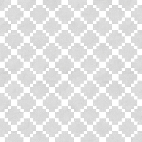 Diamond grey and white Removable Peel and Stick Wallpaper pattern