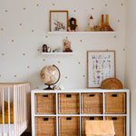 Polka Dot Removable Decals Kids Bedroom