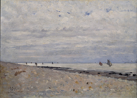 Sea Landscape off Honfleur