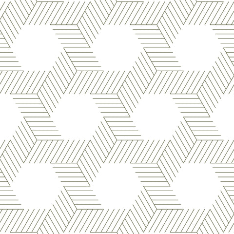 dark geometric lines and shapes white background Removable Peel and Stick Wallpaper