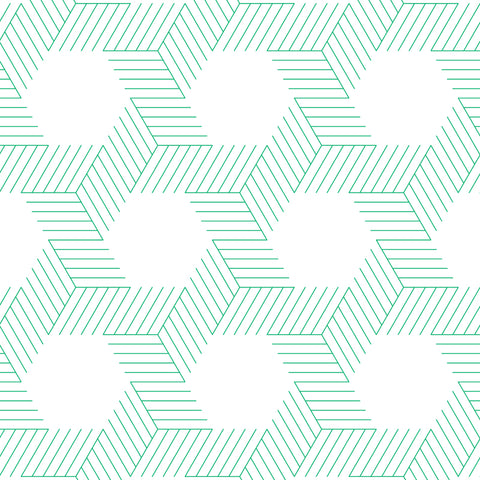 emerald green geometric lines and shapes geometric background Removable Peel and Stick Wallpaper
