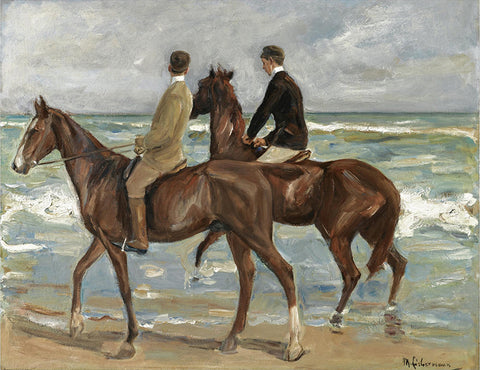 Two Riders On The Beach