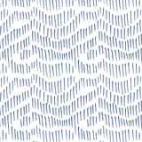 indigo blue illustrated line mark design pattern on white background Removable Peel and Stick Wallpaper