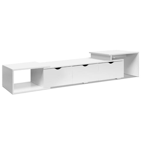 Artiss Lowline TV Entertainment Cabinet - White