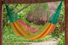 Queen Size Cotton Hammock in Radiante
