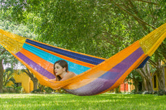 Jumbo Size Outdoor Cotton Hammock in Alegra