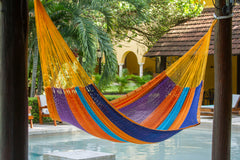 King Size Outdoor Cotton Hammock in Alegra