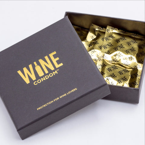 Box of WINE CONDOM(s)
