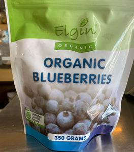 Elgin Organic Frozen Blueberries (350g)
