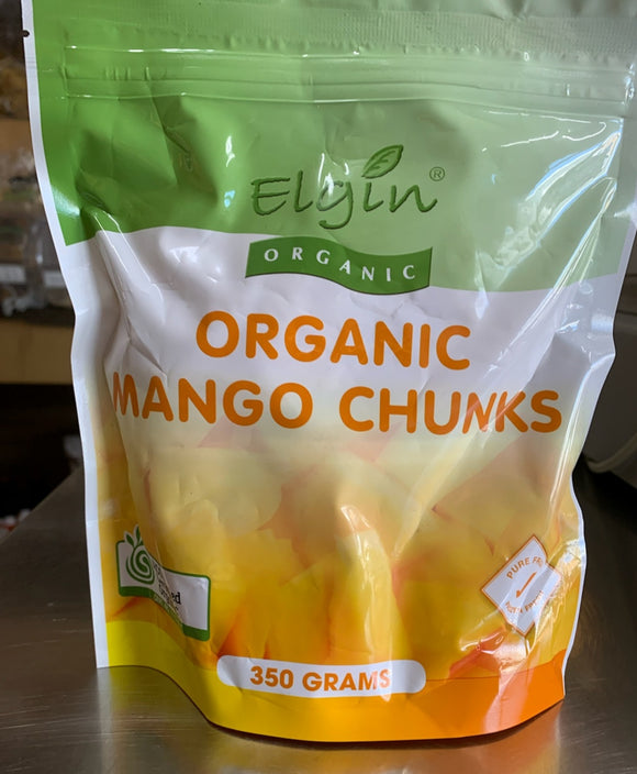 Elgin Organic Frozen Mango Chunks (350g)