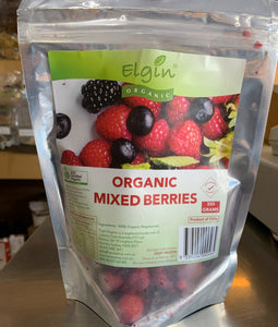Elgin Organic Frozen Mixed Berries (350g)