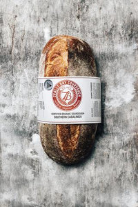 Zeally Bay Sourdough Bread - For SATURDAY pick up/delivery orders only.  Please order by Thursday 12 midday.