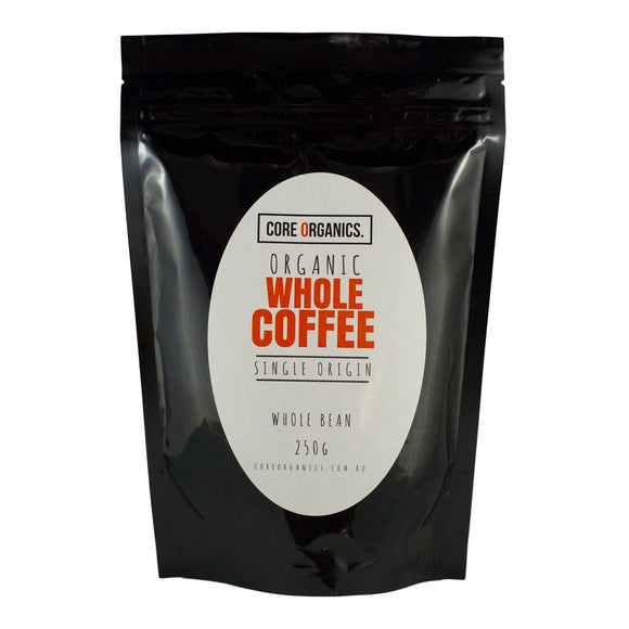 Core Organics Whole Bean Coffee