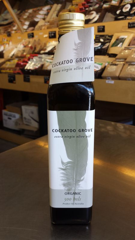 Cockatoo Grove Extra Virgin Organic Olive Oil
