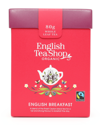 English Tea Shop English Breakfast Loose Leaf Tea (80g)