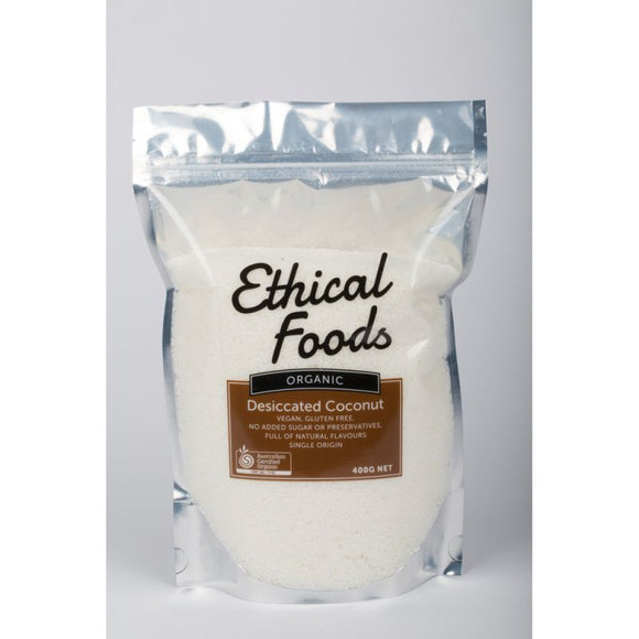 Ethical Foods Organic Desiccated Coconut (400g)
