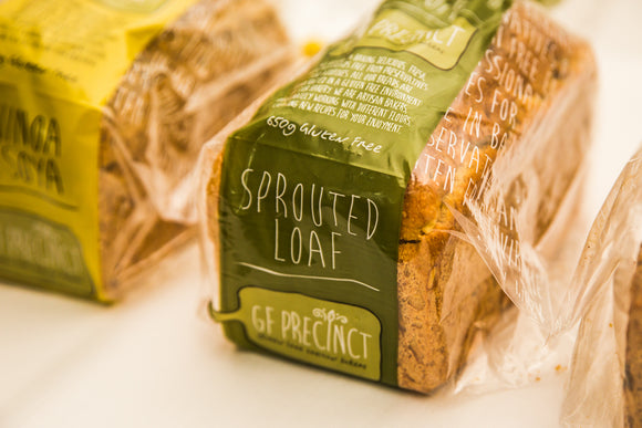 GF Precinct Gluten Free Bread (PLEASE READ description before ordering. Bread arrives in store Thursdays and Mondays)