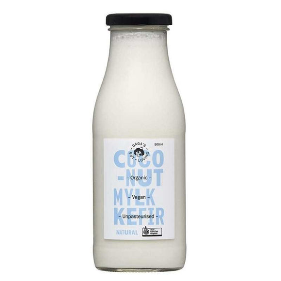 Gaga's Organic Coconut Kefir - Natural (500ml)