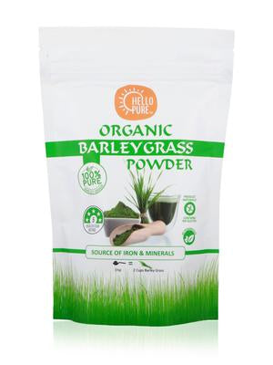 Hello Pure Organic Barley Grass Powder (100g)
