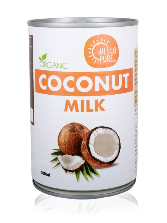 Hello Pure Organic Coconut Milk (400ml)