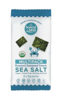 Honest Sea Seaweed Sea Salt (6 x 5g Multipack)