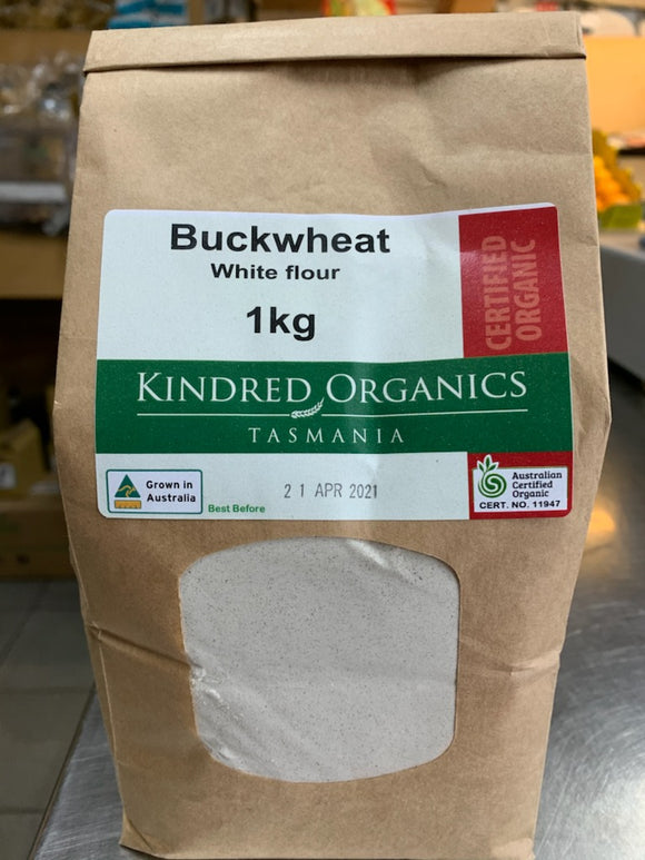 Kindred Organics Buckwheat White Flour 1kg