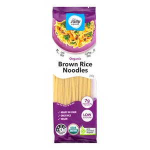Jolly Organics Brown Rice Noodles (200g)