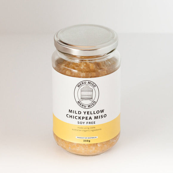 Meru Miso Mild Yellow Jar (350g)