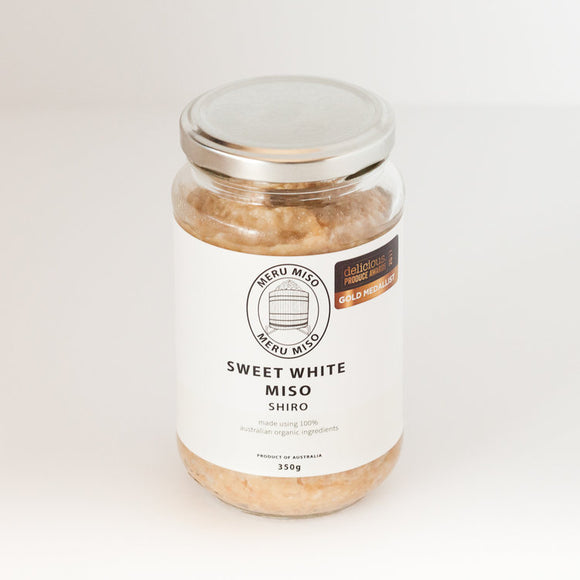 Meru Miso Sweet White Shiro Jar (350g)